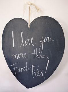"""""""I love you more than french fries."""" #lovequotes Photography: josevillaphoto.com"""