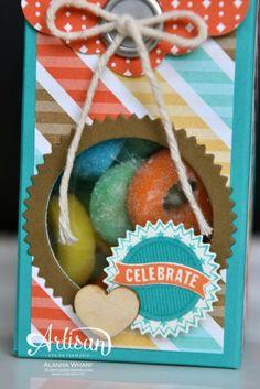 Artisan Wednesday Wow ~ 2-4-6-8 Birthday Treat Box ~ Sleepless Stamper