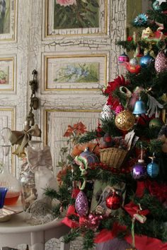 French Christmas tree