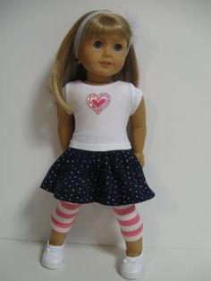 American Girl Doll Clothes Spring Day by 123MULBERRYSTREET on Etsy, $26.00