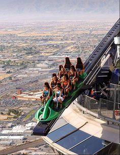 Stratosphere - Las Vegas - over the edge!