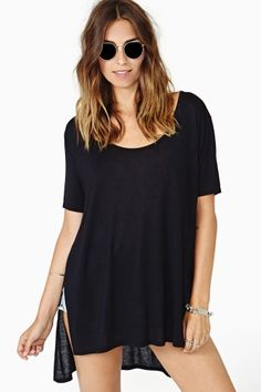 Let's Split Tee by #NastyGal