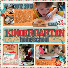 Kindergarten using Words and Pictures Templates