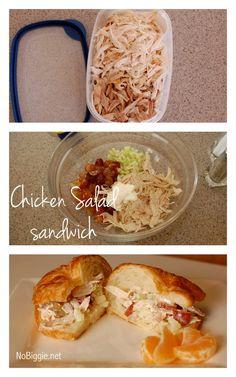 easy chicken salad sandwich recipe - NoBiggie.net