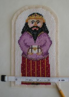 How to Finish a Needlepoint Stand-up Figure
