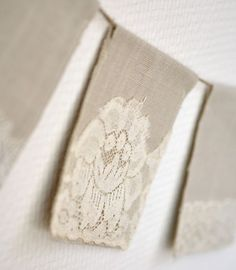 Lace Bunting Banner