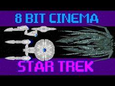 stars, trek 2009, 90 second, 8bit cinema, awesom