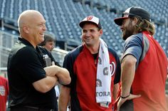 Cal Ripken Jr., Ryan Zimmerman, Jayson Werth