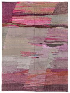 """Diane Didier Hand-Knotted Flatweave (4'2""""x5'9"""") by Mehraban Rugs on Gilt Home"""