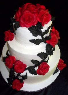 ador cake, black weddings, red cake, wedding cakes black, dream red, amaz cake, red and black wedding cakes, artsi cake, lkcake beauti