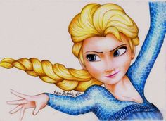 Princess ELSA from FROZEN by AmandaBloom