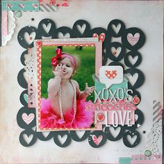 Envisages: They see me rollin'... and a free valentine hearts cut file. cherri, silhouett, scrapbook layouts, galleri, circl, background, scrapbook pages, cut outs, cut file