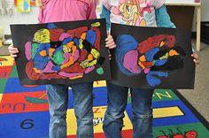 classroom idea, textur art, art class, teach stuff, aalearn fun, teacher thing, 23 art, teach idea