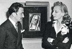 Tamara de Lempicka & Salvador Dali (1941)