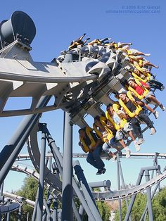 Ride top 10 roller coasters