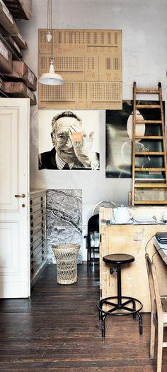 achille castiglioni's studio