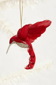 Hummingbird Ornament #anthropologie