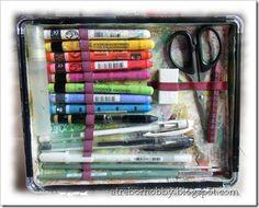 art journal kit - vligetta sopra