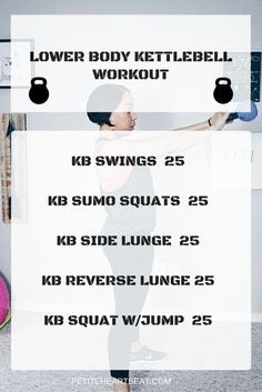 LOWER BODY KETTLEBEL