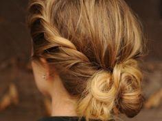 Easier than a braid ;)