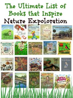 A beautiful collection of books that will inspire children in their nature explorations!