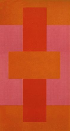 Red Abstract, 1952  -  Ad Reinhardt