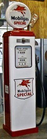 Antique gas pumps, classic gas pumps, vintage gas pumps, reproduction gas pumps, 1950s gas pump, old gas pumps