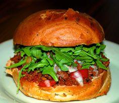 Sloppy Jose Sandwich
