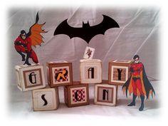 You Made Me Ink!: Gotham Baby Blocks