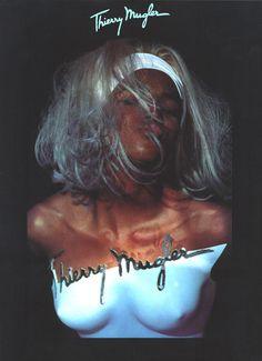 Naomi Campbell for Thiery Mugler 1990