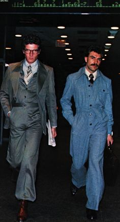 men jumpsuits 70s #fashion #mockery