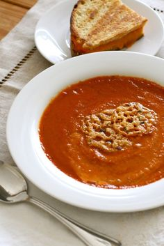 roasted tomato basil soup 1 by annieseats, via Flickr