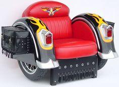 motorcycles, harley davidson, stuff, seat, chairs