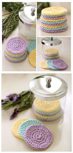 Reusable Crochet Face Pads-We Like Craft