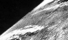First picture ever taken in space (1946)