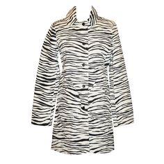 jacob coat, fur coat, marc jacob, zebra print