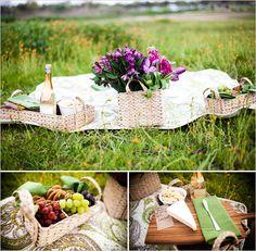 Romantic picnic. I love picnics!!
