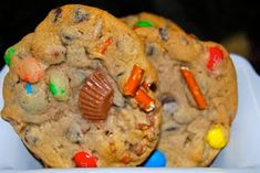 """Some people call them """"Trash Cookies"""" or """"Everything but the Sink Cookies"""" even """"Cowboy Cookies"""" - call them what you like and make them your own.  ..recipe inside ~~"""