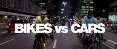 BIKES vs CARS TRAILER. Bikes vs. Cars, a new film from director Fredrik Gertten. ride, bicicleta en, bike movi, car trailer, bicycl idea