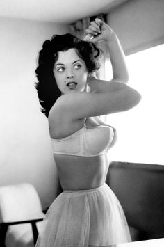 Playboy playmate from the 50's