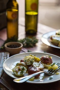 balsamic vinaigrette potato salad