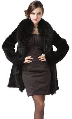 Queenshiny 100% Real Genuine Mink Fur...