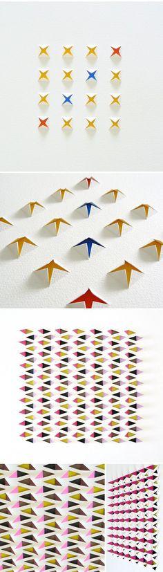 lisa rodden - cut paper. #designeveryday