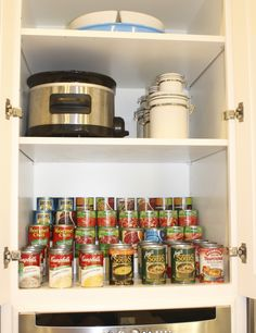 Kitchen  Cabinet Organization at www.kelleymorrison.com