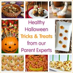 Healthy Halloween Tricks and Treats from Our Parent Experts