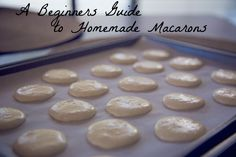 Tips and tricks for mastering the macarons at home!