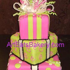 Girls 1st bday cake