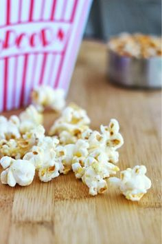 Cool Ranch Popcorn -- JUST like the Doritos, except in popcorn form.