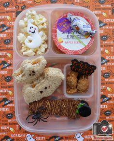 Happy Halloween! Schools are open and we packed lunch in @Kelly Teske Goldsworthy Teske Goldsworthy Lester / EasyLunchboxes