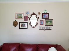 Wall collage...with room to grow